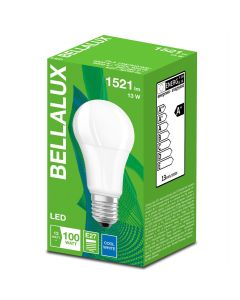 Zestaw 10x Żarówka LED A60 E27 13W = 100W 1521lm Neutralna 4000K BELLALUX