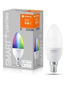 Żarówka LED E14 ŚWIECZKA 5W 470lm ciepła-zimna + RGB ściemnialna SMART+ WiFi LEDVANCE