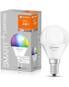 Żarówka LED E14 KULKA 5W 470lm ciepła-zimna + RGB ściemnialna SMART+ WiFi LEDVANCE