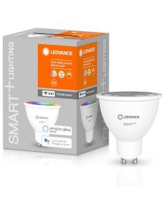Żarówka LED GU10 5W 350lm CCT LEDVANCE SMART+ WiFi  RGB Ściemnialna