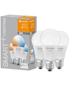 3-PAK Żarówka LED E27 A60 9W 806lm ciepła-zimna ściemnialna SMART+ WiFi LEDVANCE