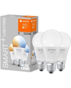 3-PAK Żarówka LED E27 A60 9,5W 1055lm Ciepła-Zimna Ściemnialna SMART+ WiFi LEDVANCE