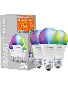 3-PAK Żarówka LED E27 A75 14W 1521lm Ciepła-Zimna + RGB Ściemnialna SMART+ WiFi LEDVANCE