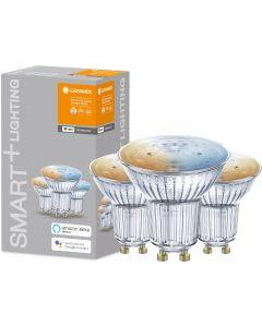 3-PAK Żarówka LED GU10 HALOGEN 5W 350lm Ciepła-Zimna Ściemnialna SMART+ WiFi LEDVANCE