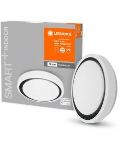 Plafon LED lampa sufitowa czarna ORBIS Moon 24W 2500lm ciepła-zimna 38cm SMART+ WiFi LEDVANCE