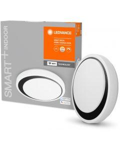 Plafon LED lampa sufitowa czarna ORBIS Moon 32W 3300lm ciepła-zimna 48cm SMART+ WiFi LEDVANCE