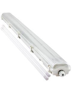 Oprawa Hermetyczna 120cm IP65 Bellalux + 2x Świetlówka LED 18W 4000K Lumiled