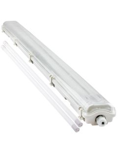 Oprawa Hermetyczna 120cm IP65 Bellalux + 2x Świetlówka LED 18W 6500K Lumiled