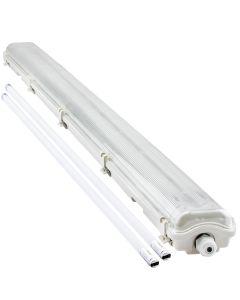 Oprawa Hermetyczna 120cm IP65 Bellalux + 2x Świetlówka LED 16W 4000K OSRAM