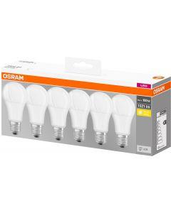 6x Żarówka LED E27 14W = 100W 1521lm OSRAM 2700K