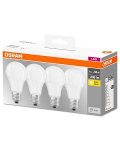 Żarówka LED E27 8,5W = 60W A60 806lm 2700K OSRAM BASE 4PAK