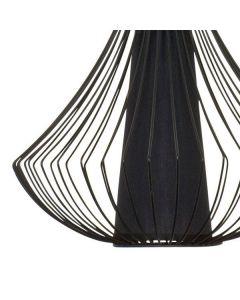Lampa wisząca NOWODVORSKI E27 Druciana Loft 4607 KAREN Czarna Stal Śr. 40 cm