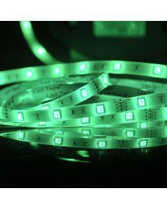 Zestaw Taśma LED 14W RGB 150LED SMD IP65 5m 120° + sterownik + zasilacz POLUX