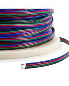 Przewód RGB do taśm LED 4-ŻYŁY 4x0,45MM