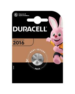 BATERIE Pastylkowe GUZIKOWE Duracell DL-2016 Blister 1szt