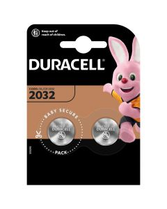 BATERIE Pastylkowe GUZIKOWE Duracell DL-2032 3V Blister 2szt