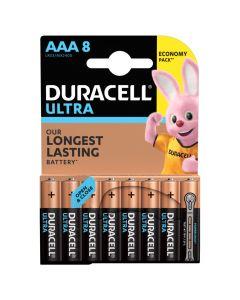Baterie Alkaliczne Duracell ULTRA AAA LR03 Blister 8szt