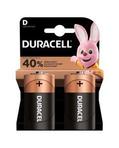 Baterie Alkaliczne Duracell Basic D LR20 Blister 2szt