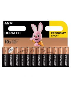 Baterie Alkaliczne Duracell Basic AA LR6 Blister 12szt