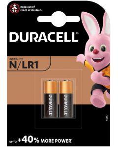 Baterie alkaliczne DURACELL N MN9100 LR1 E90 1.5V Blister 2szt
