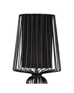 Lampa stołowa NOWODVORSKI E27 Druciana Retro 5411 AVEIRO Czarna Stal