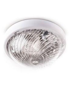Plafon LED Oprawa Sufitowa Ścienna Natynkowa WEGA PC 75W IP44 Biała KOBI