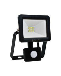 Naświetlacz LED LPP10CWGB 10W czujnik ruchu zmierzchu POLUX