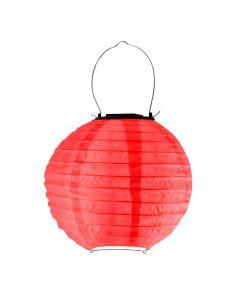 Lampa ogrodowa LED solarna LAMPION KULA wisząca 20 cm Polux