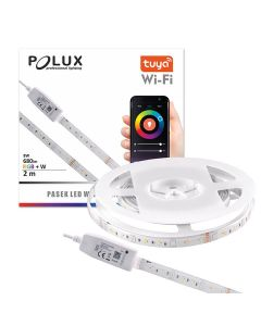 Taśma LED WIFI Smart 2m 8W 3000K~6000K 680lm RGB IP65 TUYA Polux