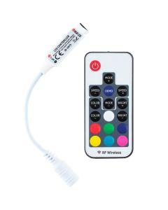 Sterownik RGB LED radiowy 72W 2x3A + PILOT RF 5V~24V DC