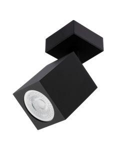 Kinkiet Sufitowy Lampa Ścienna Reflektor GU10 QUANTUS Czarna