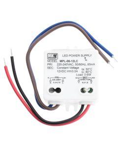 Zasilacz szafkowy MPL-06-12LC 6W 12V DC 0,5A