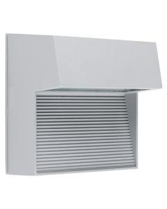 Kinkiet Ogrodowy LED Lampa Elewacyjna Zewnętrzna IP54 2x3W 4000K CARRI Szara