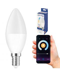Żarówka LED Świeca E14 5W = 35W 410lm CCT SPECTRUM Smart WiFi Ściemnialna