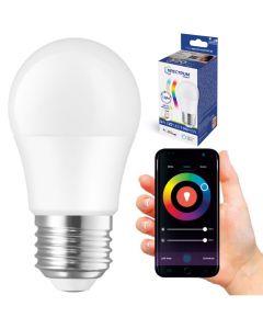 Żarówka LED E27 P45 5W = 42W 520lm CCT RGB SPECTRUM Smart TUYA WiFi