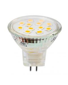 Żarówka LED GU5,3 MR11 2,5W = 25W 220lm 3000K Ciepła 120° LUMILED