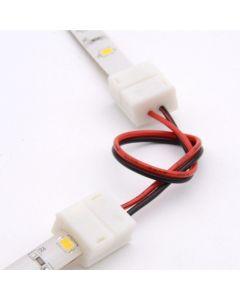 Złączka do Taśm LED IP65 8 mm 2-PIN Dwustronna z Przewodem