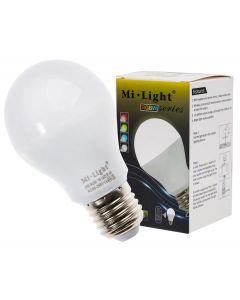 Żarówka LED E27 6W 450lm RGB+W Zimna Wi-Fi Mi-Light - FUT014CW