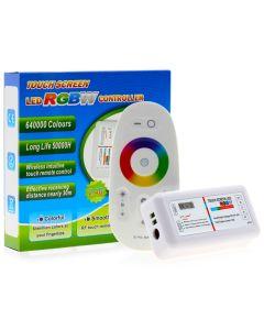 Sterownik LED RGB+W ODBIORNIK 288W + Pilot Dotykowy RF 2,4GHz