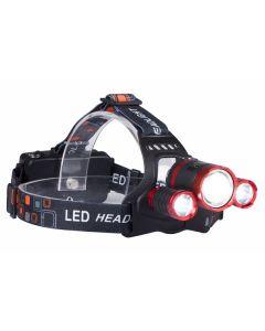 Latarka czołowa LED Cree XM-L T6 akumulatorowa LB0106 LIBOX