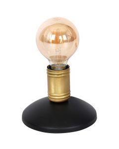 Lampa stołowa w stylu industrialnym czarna MiLAGRO DYLAN 1x E27