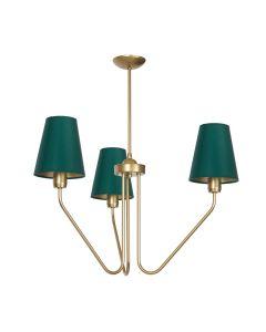 Żyrandol lampa wisząca MiLAGRO VICTORIA 3x E27