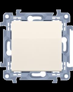 ŁĄCZNIK włącznik jednobiegunowy SIMON 10 KREMOWY 10AX CW1.01/41