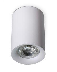 Oprawa Halogenowa Natynkowa Aluminiowa SPOT TUBA do LED GU10 Okrągła MANGO KOBI