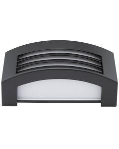 Kinkiet Ogrodowy Elewacyjny Lampa Zewnętrzna E27 Ciemnoszara IP54