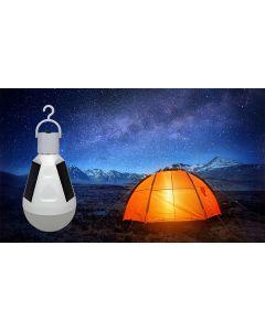 Żarówka SOLARNA LED E27 7W = 45W 560lm 4500K Turystyczna Biwakowa Wisząca