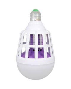 Żarówka LED E27 15W 4500K Neutralna OWADOBÓJCZA na Komary Muchy MOSQUITO