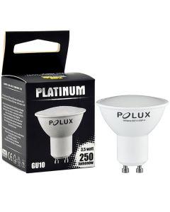 Żarówka LED GU10 3,5W = 26W 250lm 3000K Ciepła 105° POLUX