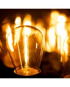 Żarówka LED E27 P45 1,3W = 10W 90lm 2200K Ciepła 360° Filament LUMILED