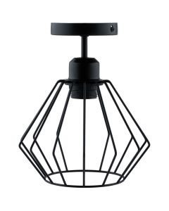 Lampa sufitowa FILIS geometryczna druciana loft do LED 1xE27 LUMILED